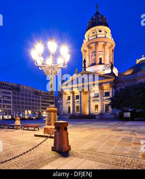 Historic Gendarmenmarkt Square in Berlin, Germany. - Stock Photo