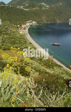 Filicudi, Aeolian islands, Italy - Stock Photo