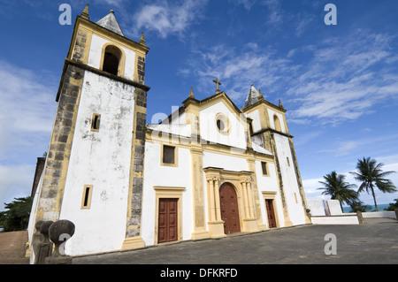 Cathedral Alto da Sé, Olinda, Pernambuco state, Brazil, UNESCO World Heritage Site - Stock Photo