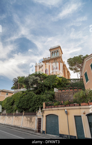 Santa Margherite Ligure,Province Genoa,Liguria,Italy - Stock Photo