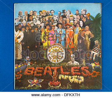 ´Sgt. Pepper´s Lonely Hearts Club Band ´, album by The Beatles (1967) - Stock Photo