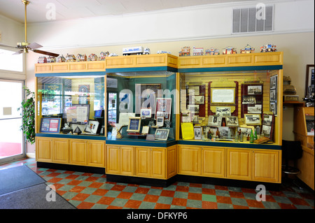 Museum in Wal-Mart Visitors Center Bentonville Arkansas - Stock Photo