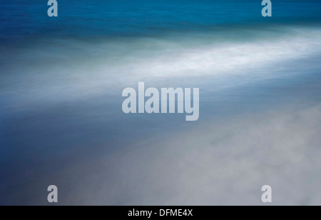 Blurry Ocean Waves - Stock Photo
