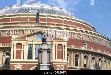 Royal Albert Hall. Kensington, London. England - Stock Photo