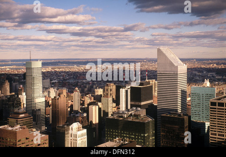 Buildings in New York City. USA - Stock Photo