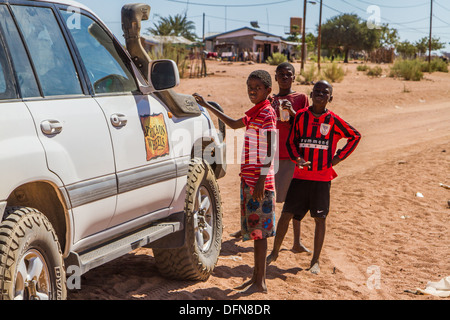 Children in Namibia - Stock Photo