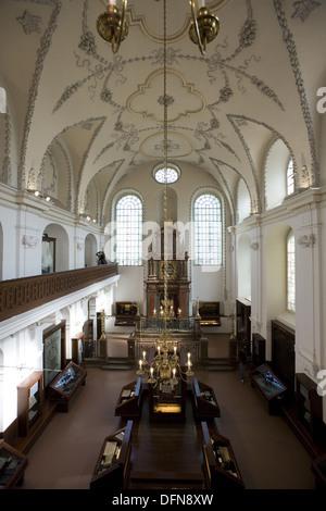Czech Republic. Prague. Klaus Synagogue. - Stock Photo