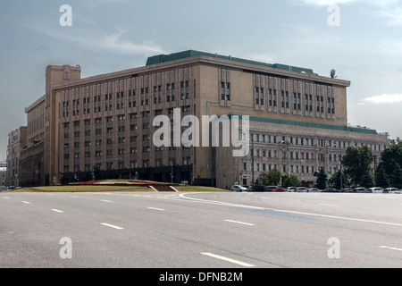 Former KGB Building Lubyanka Moscow Russia - Stock Photo
