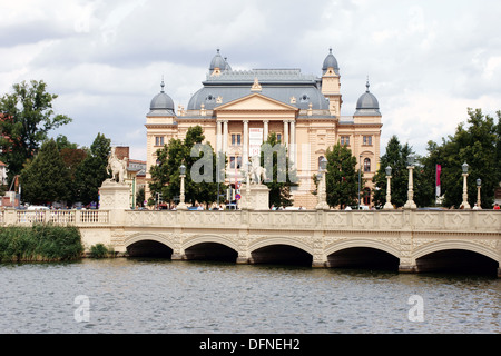 State theater in Schwerin - Stock Photo