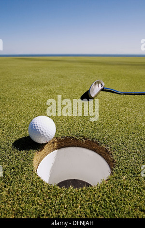 Doña Julia Golf club. Casares. Malaga province, Andalucia. Spain. - Stock Photo