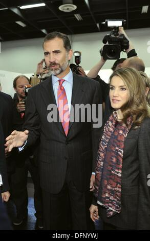 Exhibition Booth In Spanish : Cologne germany. 07th oct 2013. spanish crown prince felipe and