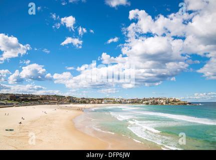bondi beach view in sydney australia - Stock Photo