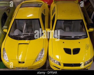 Miniature cars - Stock Photo