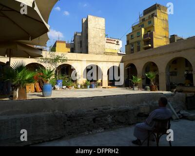 Bazars at Khan El Khalili , Islamic Quarter, Cairo, Egypt - Stock Photo