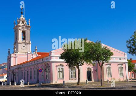 Queluz, Pousada Dona maria, Dona Maria state-run hotel, Lisbon Portugal, Europe. - Stock Photo