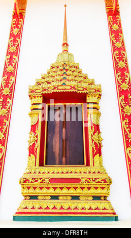... Ancient decorative door of Thai temple - Stock Photo  sc 1 st  Alamy & Pattern Thai Traditional Ornament Paint on Temple door Stock Photo ...
