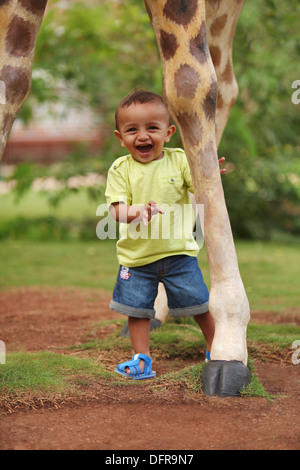 A 3 year old indian boy - Stock Photo