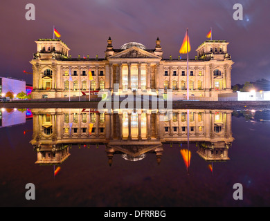 Reichstag in Berlin, Germany - Stock Photo