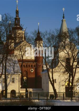 Suprasl. Orthodox Men Monastery. Podlasie region. Eastern Poland - Stock Photo
