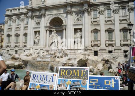 Trevi Fountain, Rome, Italy - Stock Photo