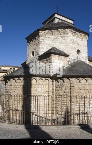 St. Nichola´s church, Girona. Catalonia, Spain - Stock Photo