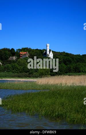 Lietzow castle, Baltic Sea Coast, Ruegen Island, Mecklenburg-Western Pomerania, Germany - Stock Photo