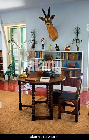 Writers Studio at Ernest Hemingway Residence  Key West, Florida  USA - Stock Photo