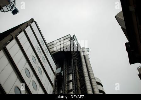 Lloyds Building London EC3 - Stock Photo