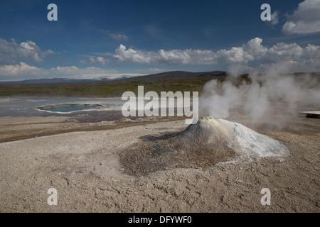 Hveravellir Geothermal Iceland - Stock Photo