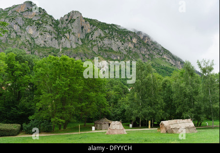 France, Ariege - Parc Prehistorique, Tarascon-sur-Ariege, near Foix. - Stock Photo