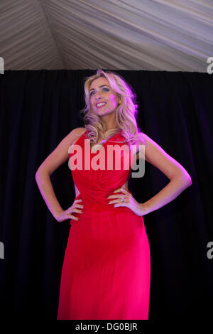 High-end fashion in Manchester, UK 10th October, 2013. Gemma Ann Merna at Vogue Fashion's Night Out, a one-night - Stock Photo