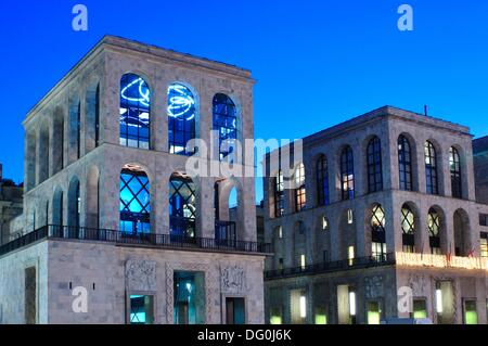 Italy, Lombardy, Milan, Duomo Square, Twentieth Century Museum, Museo del Novecento - Stock Photo