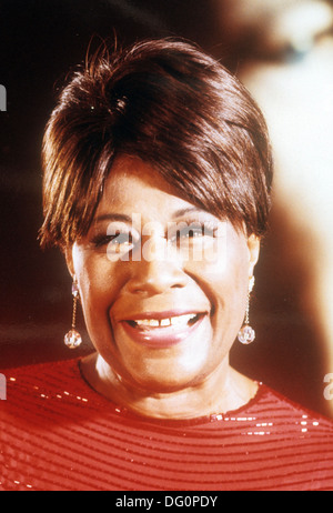 ELLA FITZGERALD (1917-1996) American jazz singer about 1965 - Stock Photo