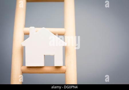 Concept Image To Illustrate Housing Market - Stock Photo