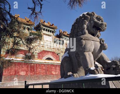 The Putuozongsheng Temple, Chengde, China. - Stock Photo