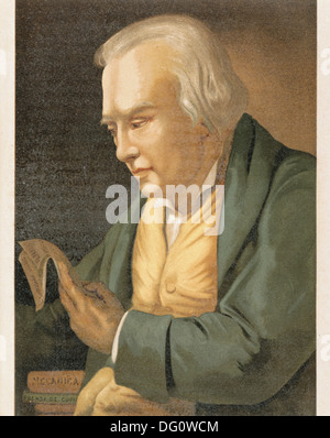 James Watt, scottish inventor (1736-1819) - Stock Photo