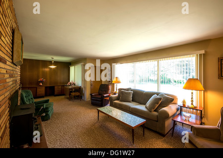 Living Room In House Built Around 1959 With Very Little Remodeling Retro