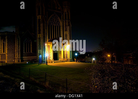 Sacred Heart Church, Edge Hill, Wimbledon. - Stock Photo