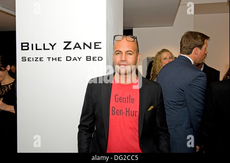 Billy Zane at his Seize the Day Bed exhibition at the Rook & Raven Gallery London England. - Stock Photo