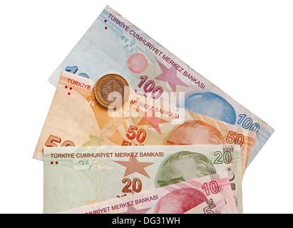 Turkish Lira. - Stock Photo