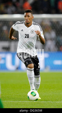 Cologne Germany 11th Oct. 2013,  Qualifying match for  FIFA Football World Cup 2014 Brasil in RheinEnergie stadium, - Stock Photo