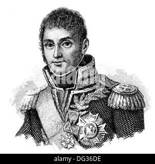 André Masséna or Andrea Massena, 1st Duc de Rivoli, 1st Prince d'Essling, 1758-1817, a French military commander during the Revo