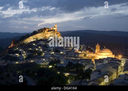 Montefrio. Granada province, Andalucia, Spain - Stock Photo