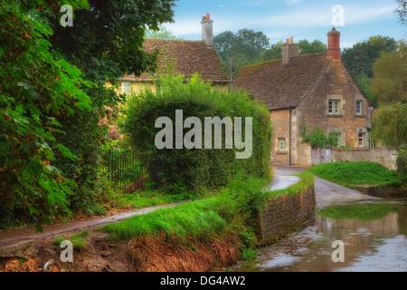 Lacock, Wiltshire, England, United Kingdom - Stock Photo