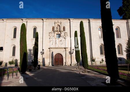 Colegio de San Nicolas now Cardenal Lopez de Mendoza high school, Burgos, Castilla y Leon, Spain - Stock Photo