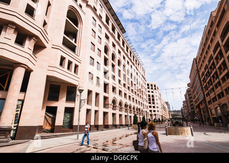 Northern Avenue at Yerevan downtown, Armenia - Stock Photo