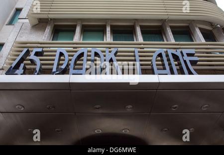 45 PARK LANE, THE DORCHESTER - Stock Photo