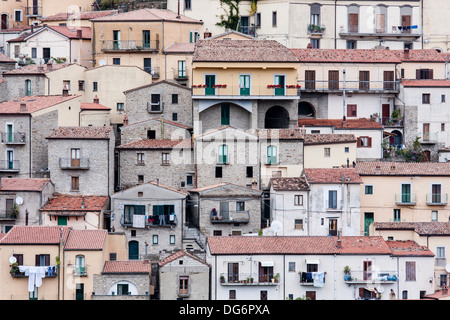 Castelmezzano Italy - Stock Photo