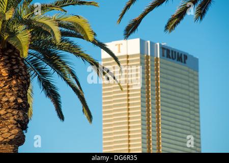 Donald Trump hotel in Las Vegas - Stock Photo