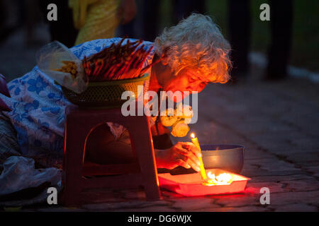 Cambodia marks 1st anniversary of King Father Norodom Sihanouk's death Credit:  Combre Stephane/Alamy Live News - Stock Photo